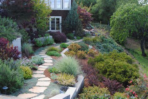 hillside meadow garden harmony in the garden