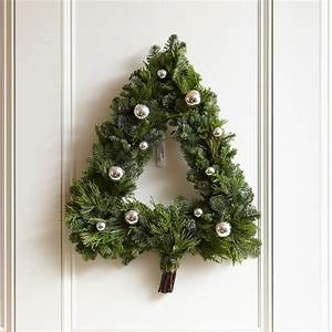 20 winter wreaths door decorations you can display all With letter shaped wreaths