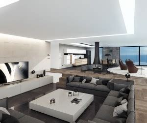 Penthouse Interior  Home Design