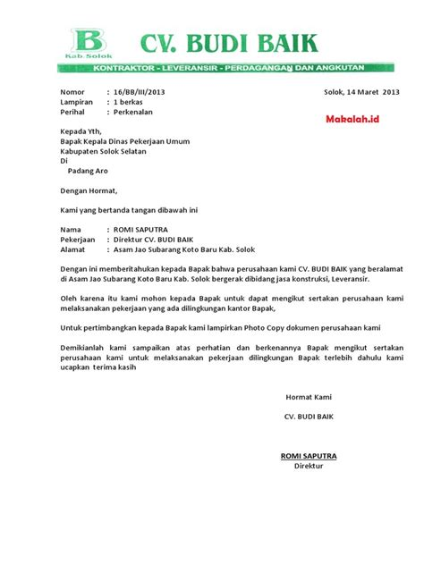 Contoh Surat Permintaan Dari Perusahan by Created For Just One Purpose Contoh Surat Balasan