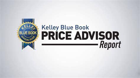 kelley blue book price advisor report  car pricing