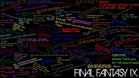 Fast Final Fantasy 9 Amarant Quotes
