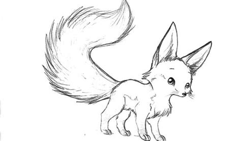 baby fox coloring pages fennec fox coloring page coloring pages