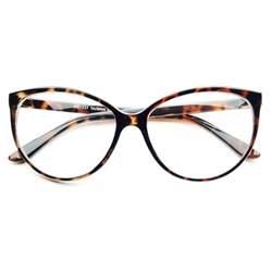 cat eye frames large clear lens retro vintage fashion cat eye eye glasses