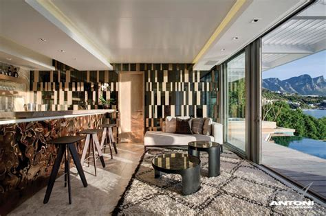 Interior Decorating Blogs South Africa by Clifton View Mansion By Antoni Associates Overlooking Cape