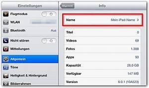App Store Land ändern : ipad iphone den angezeigten namen ndern techfrage ~ Markanthonyermac.com Haus und Dekorationen