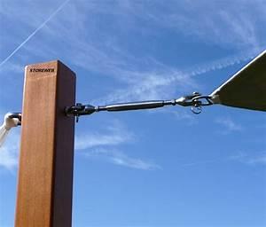 Mat Pour Voile D Ombrage : poteau en bois poteau bois sur enperdresonlapin ~ Dailycaller-alerts.com Idées de Décoration