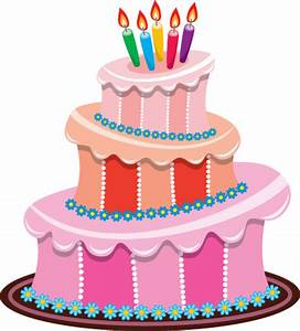 Set of Birthday cake vector material 01 - Vector Birthday ...