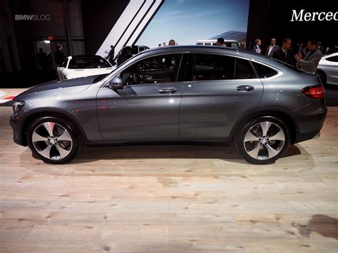 2016 NYIAS: Mercedes-Benz GLC Coupe - BMW X4 competitor