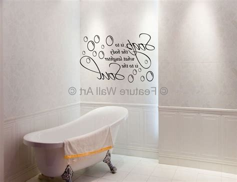 15 ideas of glamorous bathroom wall art