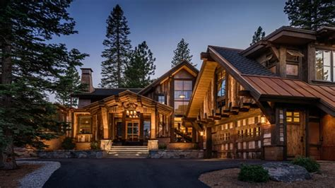 Luxury Log Cabin Homes Mountain Cabin Style Home, Rustic