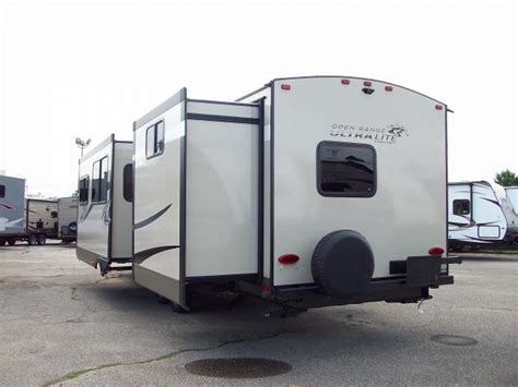 open range ultra lite 3110bh travel trailer with bunks and