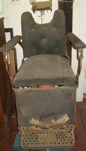 pin antique emil j paidar barber chair headrest mounting