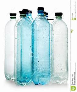 Simple Plastic Bottles Stock Image  Image Of Object  Empty