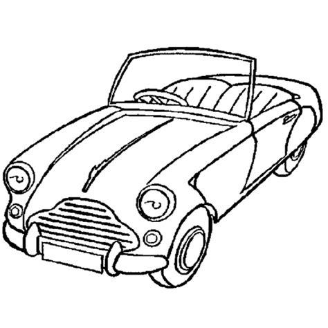 disegni per bambini da colorare macchine disegno di macchina cabrio da colorare per bambini