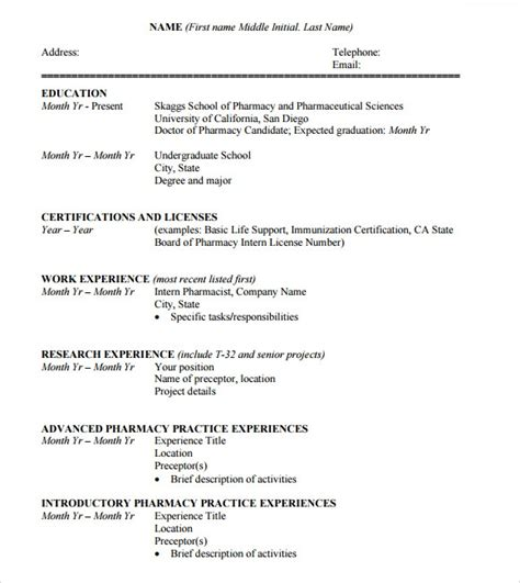 sample student cv templates   ms word