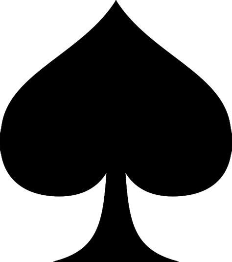 suit  spades spade card  vector graphic  pixabay