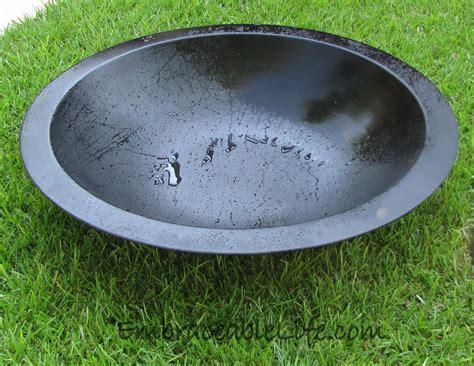 pit bowl insert firepit liner metal pit liner fireplace design ideas