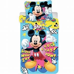 Bettwäsche Mickey Mouse : mickey mouse duvet mikrofaser 140x200 70x90 ~ A.2002-acura-tl-radio.info Haus und Dekorationen