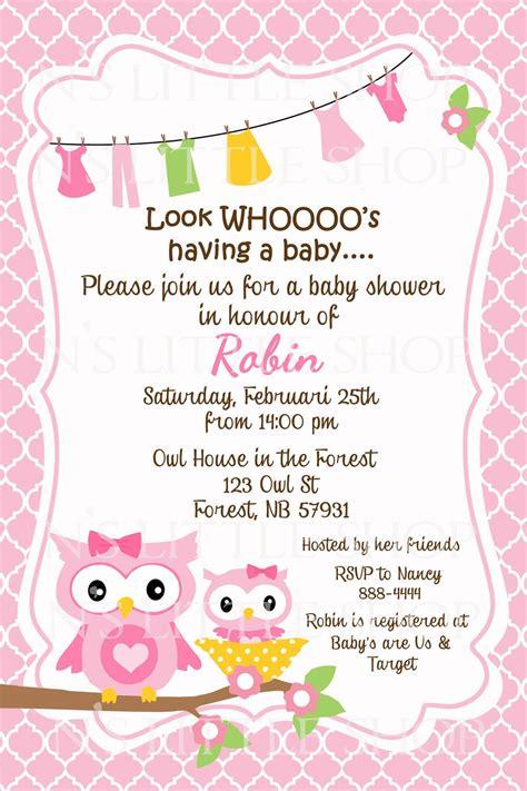 baby shower invitation cards ideas