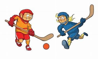 Hockey Road Ball Street Canada Tournament Clipart