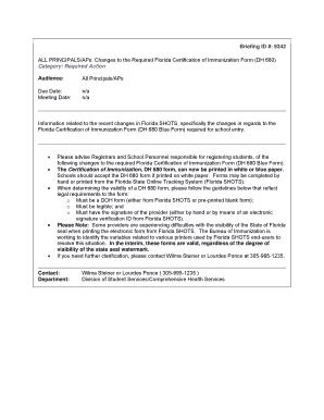 florida certification immunization form blank florida certification of immunization fill online