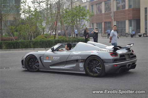 Koenigsegg Agera R Spotted In Beijing China On 05 18 2013
