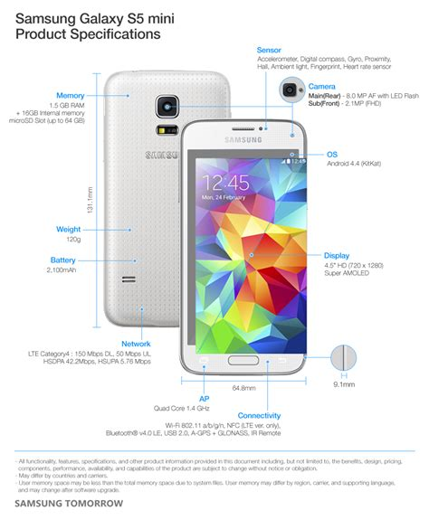 samsung launches compact stylish galaxy s5 mini