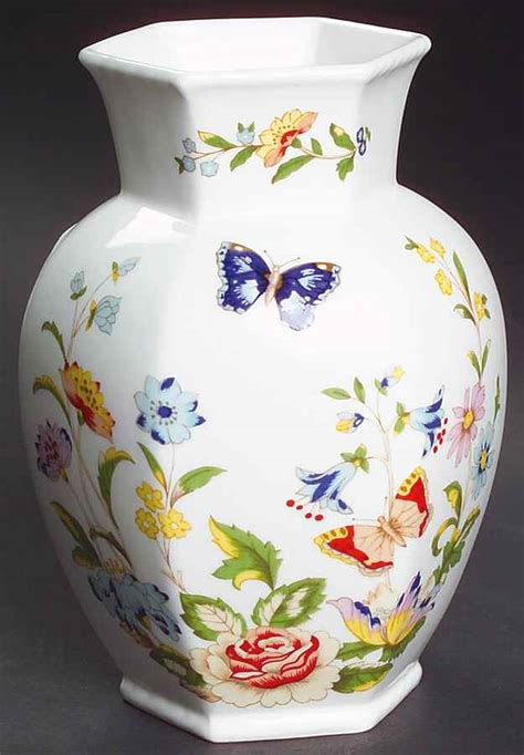 """Aynsley Cottage Garden 5"""" Chelford Vase 7230020 Ebay"""