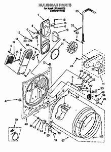 Diagram  U0026 Parts List For Model Lel8858eq0 Whirlpool