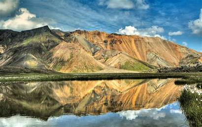 Reflection Water Wallpapers Lake Background Rusty Still