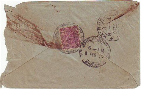 rare indian collectibles india  envelope mentions