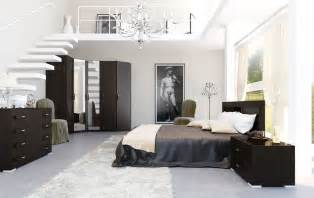 Black And White Bedroom Ideas 4 Black And White Brown Bedroom Mezzanine Interior Design Ideas