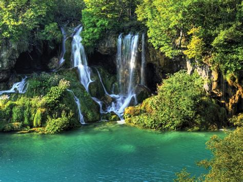 Waterfall Background by Thailand Wallpaper Waterfall River Jungle Nature