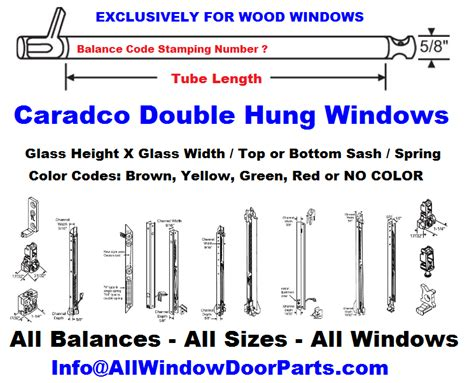 caradco wood window repair parts  double hung balance pairs truth window hardware