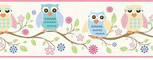 878544 Wise Owls Wallpaper Border GIR94011b