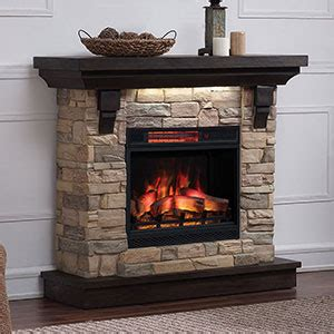 medium electric fireplace mantel packages
