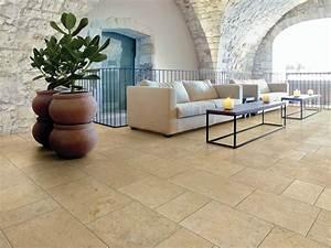 Pavimento in gres porcellanato effetto pietra PETRA SOLIS Panaria Ceramica