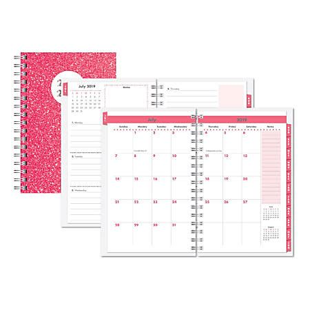 Office Depot Hours On July 4 by Office Depot Brand Glitter Weeklymonthly Academic Planner