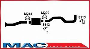 88 89 90 Chevy Blazer Jimmy S10 Muffler Exhaust System