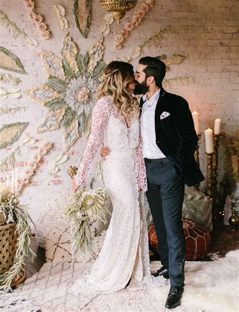 seventies earthy moroccan inspired wedding