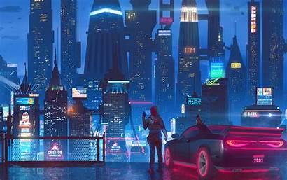 4k Cyberpunk Sci Fi Phone Teahub Io