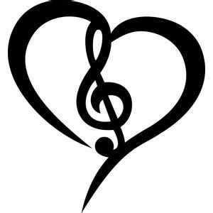 Free printable labels featuring hearts. Silhouette Design Store - View Design #183910: musical ...