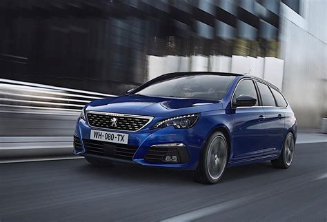 a peugeot 2018 peugeot 308 facelift revealed gets 8spd auto