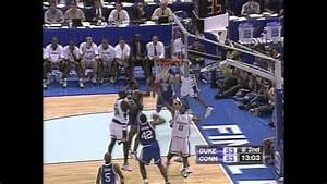 1999 ncaa tournament national chionship uconn vs