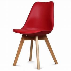 Chaise Scandinave Rouge : chaise couleur top chaises scandinave loa couleur moutarde with chaise couleur excellent ~ Teatrodelosmanantiales.com Idées de Décoration