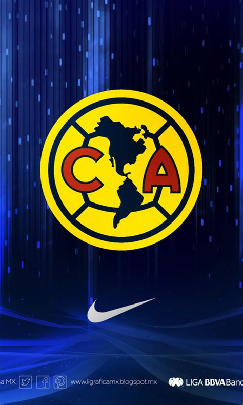 480x800 football club america club america logo wallpapers and posters 74729