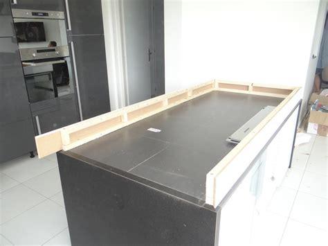plan de travail cuisine bois ilot de cuisine et table coulissante communauté leroy merlin