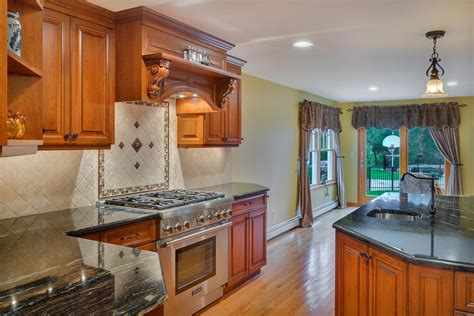 click kitchen cabinets custom cherry cabinet kitchen manasquan new jersey by 2253