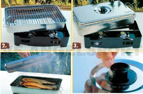 fumoir cuisine fumoirs de table inox saumon fumoir de table inox 44x28x14cm